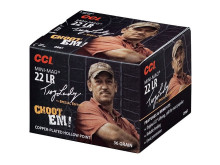 CCI RIMFIRE AMMO., .22 LR,36 GR. MINI MAG, HP, TROY LANDRY SPECIAL EDITION, 300 ROUNDS