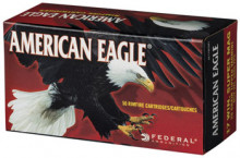 FEDERAL AMERICAN EAGLE AMMO., 17 WSM, 20 GR., TIPPED VARMINT, 50 ROUNDS