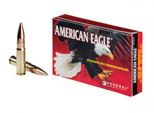 FEDERAL AMERICAN EAGLE AMMUNITION, .300 BLACKOUT, 150 GR., FULL METAL JACKET, 20 ROUNDS
