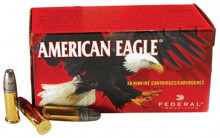 FEDERAL AMERICAN EAGLE, 22 LR., 38 GR., H.P., 50 ROUNDS