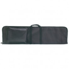 "ALLEN RIOT SOFT ZIPPERED SHOTGUN CASE, 44"" W/ POCKET, BLACK"