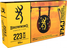 BROWNING AMMO -223 REMINGTON 55 GR. FMJ 20 RNDS