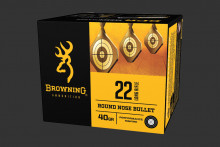 BROWNING AMMUNITION, BPR, .22 LR, 40 GR., 400 ROUNDS