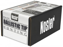 NOSLER BULLETS BALLISTIC TIP, 8MM/.323, 180 GR SPITZER, 50COUNT BOX