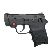 SMITH & WESSON M&P BG380 PISTOL, .380 ACP, CT LASER