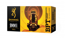 BROWNING AMMUNITION, BPT, 9 MM, 115 GR., 50 ROUNDS