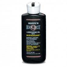HOPPES BENCH REST NO 9  LUBRICATING OIL,  2.250 0Z.