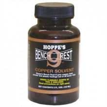 HOPPES BENCH REST COPPER SOLVENT, 4 OZ