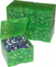 MTM CAST BULLET BOXES CAST BULLET STORAGE GREEN