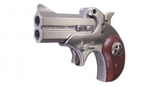 "BOND ARMS COWBOY DEFENDER DERRINGER 45 COLT /410GA,  3"" BBL. STAINLESS/ WOOD"