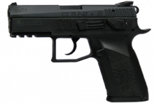 "CZ P07 DUTY HANDGUN, 9 MM, 3.8"" BBL., BLACK/  POLYMER, 15 ROUNDS"