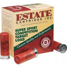 ESTATE TARGET LOADS,  12 GA., 3 DRAM, 1-1/8 OZ OF #8 SHOT, 1200 FPS