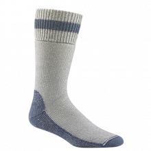 WIGWAM DIABETIC THERMAL SOCK, GREY/ DENIM, LARGE