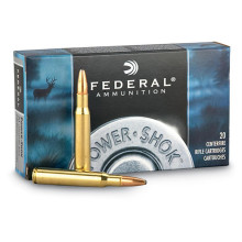 FEDERAL PREMIUM AMMUNITION, .280 REM., 150 GR. SOFT POINT POWERSHOK, 20 ROUNDS