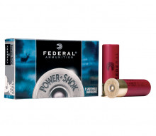 "FEDERAL POWERSHOK RIFLED SLUGS,  12 GA, 3"", 11/4 OZ., 5COUNT"