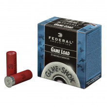 "FEDERAL GAME-SHOK LEAD, 12 GA., 2 3/4"", 1 OZ., #8, 25 ROUNDS"
