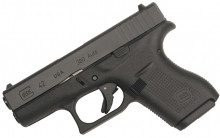 "GLOCK MODEL 42, 380 ACP, 3.25"" BBL, 6 ROUNDS"
