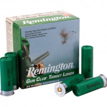REMINGTON GUN CLUB TARGET LOADS 20 GA 2-1/2 DR 7/8OZ #7.5 1200 FPS