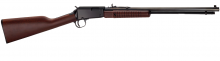 "HENRY PUMP ACTION RIFLE, 22 LR., 19.75""  BBL."