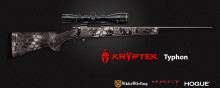 HOWA M1500 GAME KING COMBO RIFLE, .223 REM., W/ 4-16 SCOPE, TYPHON CAMO