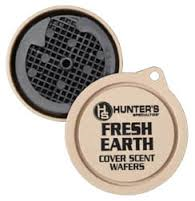 HUNTERS SPECIALTIES SCENTS WAFERS, FRESH EARTH