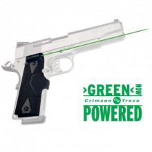 CRIMSON TRACE GREEN LASERGRIP 1911 FULL SIZE