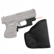 CRIMSON TRACE RED LASERGUARD FOR GLOCK 19, 23, 26, 27, W/ HOLSTER