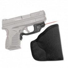 CRIMSON TRACE RED LASERGUARD SPRINGFIELD XDS, W/ HOLSTER