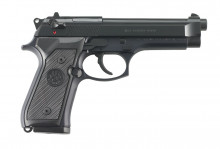 "BERETTA M9, 9 MM., 4.9"" BBL, BLUE, 15 ROUNDS"