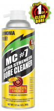 SHOOTER'S CHOICE MC #7 EXTRA STRENGTH BORE CLEANER, 12 OZ.