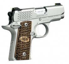 "KIMBER MICRO 9 STAINLESS RAPTOR, 9MM, 3.15"" BBL. 6 ROUNDS"