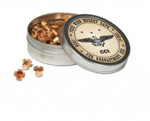 CCI FOUR WING MUSKET CAPS, 100 PER TIN