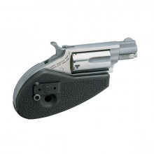 """NORTH AMERICAN ARMS REVOLVER, 22 MAG., 1-1/8"""" BBL. W/ HOLSTER GRIP"""