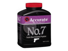 ACCURATE POWDER NO. 7, 1LB