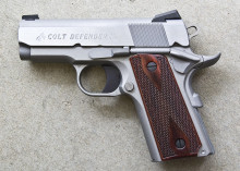 "COLT DEFENDER, .45 ACP, 3"" BBL., STAINLESS, 8 ROUNDS"