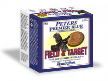 REMINGTON PETERS PREMIER BLUE, 12GA 2-3/4 DR 1-1/8 OZ #8 1145 FPS