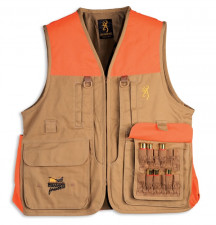 BROWNING PHEASANT FOREVER VEST 30511632 SMALL TAN/BLAZE