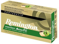 "REMINGTON PREMIER ACCUTIP BONDED SABOT SLUG, 12 GA., 23/4"", 385 GR., 5 ROUNDS"