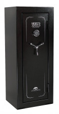 SPORTS AFIELD PRESERVE SAFE, 24+4 GUNS ELECTRONIC LOCK BLACK TEXTURE