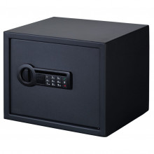 STACK ON PERSONAL SAFE, 2 SHELVES, MATTE W/ ELECTRONIC LOCK