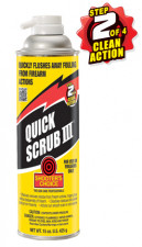 SHOOTER'S CHOICEQUICK SCRUB III CLEANER/DEGREASER 15OZ.