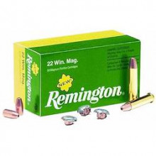 REMINGTON RIMFIRE AMMO., 22 MAG., 40 GR., JHP, 50 ROUNDS