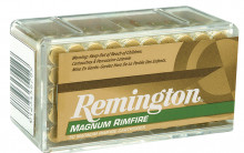 REMINGTON RIMFIRE AMMO, 22 MAG, 40 GR. PSP, 50 ROUNDS