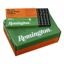 REMINGTON PRIMERS 2 1/2 LARGE PISTOL