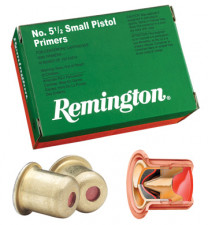 REMINGTON PRIMERS 5 1/2 SMALL PISTOL