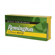 REMINGTON EXPRESS RIFLE AMMO, 3006 SPRINGFIELD, 125 GR. PSP, 20 ROUNDS