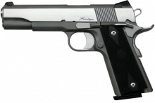 "DAN WESSON PISTOL, RZ45 HERITAGE, .45 ACP, 5"" BBL, STAINLESS, 8 ROUNDS"