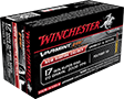WINCHESTER AMMO., .17 WSM., 20 GR., POLYMER TIP, 50 ROUNDS