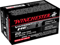 WINCHESTER AMMO., 22 MAG., 34 GR. JHP, 50 ROUNDS