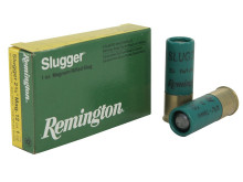 "REMINGTON RIFLED SLUGS SLUGGER 12GA. 23/4"" 7/8 OZ, 5 ROUNDS"